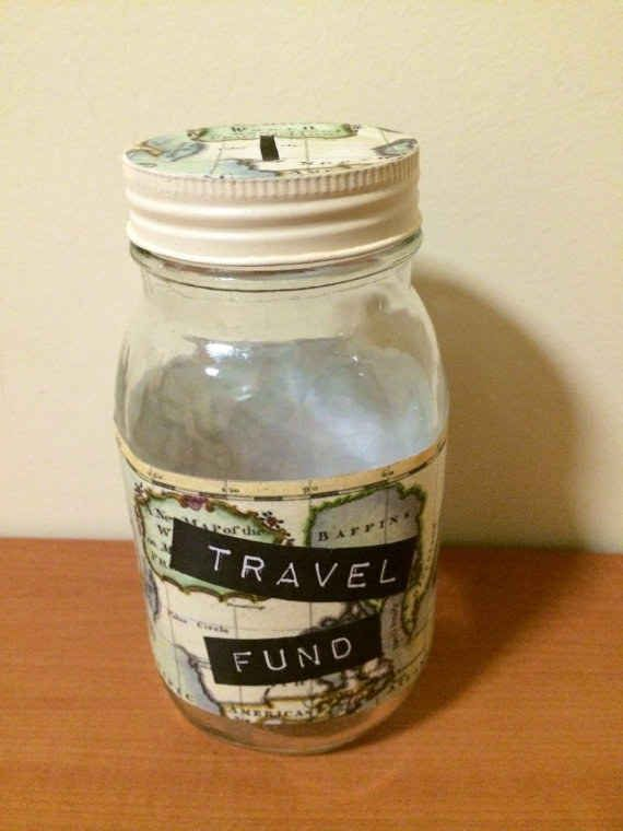 And to inspire them to save for their next trip, this Travel Fund Jar