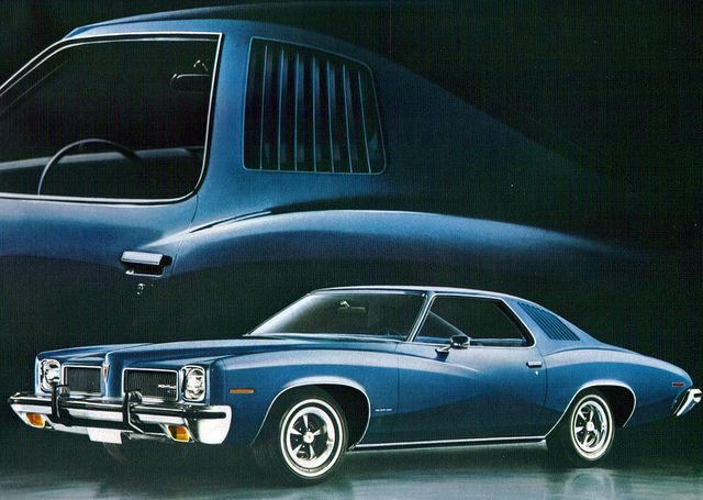 1973 Pontiac LeMans Sport Coupe  Loved mine but it was