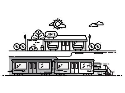 I miss the train again....   Designer: Nick Slater