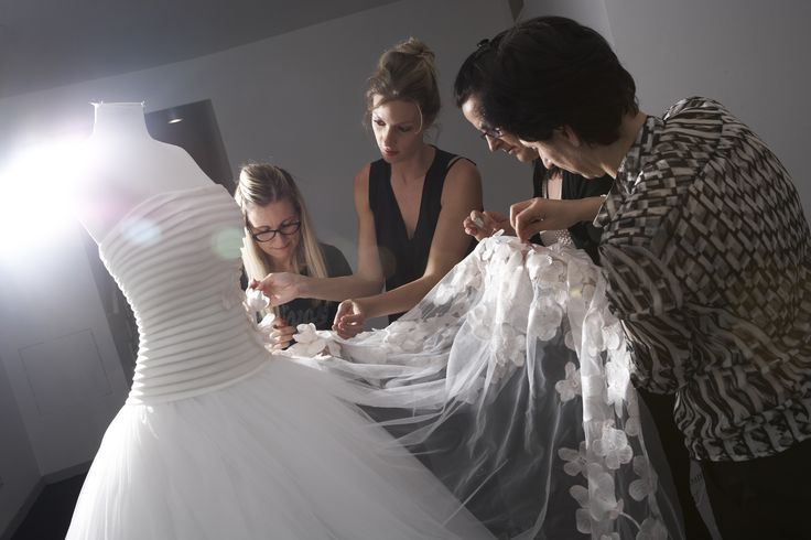 #backstage from #carlopignatelli #luxury #wedding #show #collections 2016