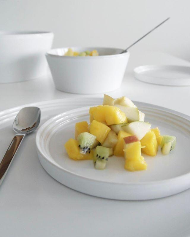 Norli tableware in white. Photo by @ingvild90.