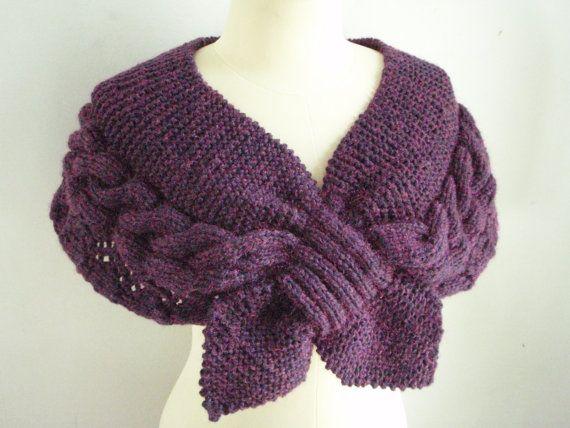 56 besten Knit capes/ponchos Bilder auf Pinterest | Strickmuster ...