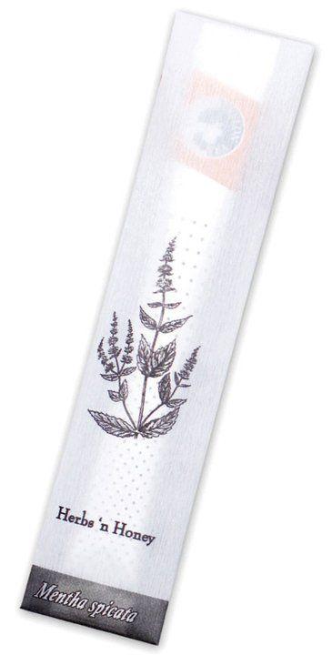 Herbs n' Honey:  Spearmint, rooibos, eucalyptus, wild orange leaves, fennel and honey.