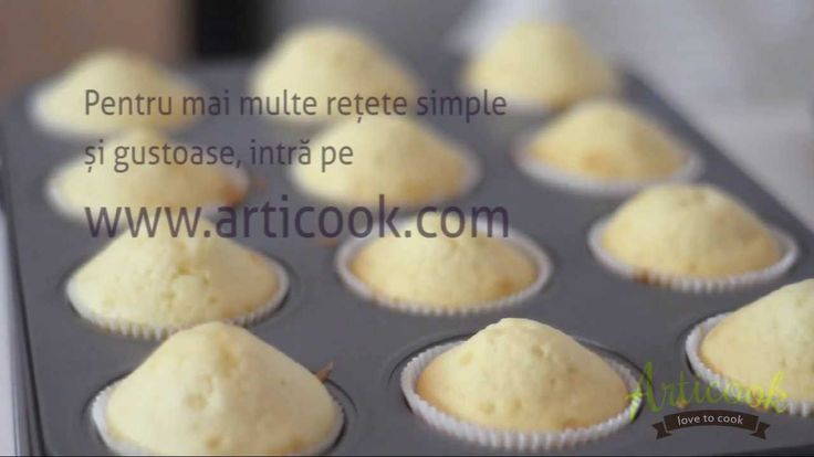 Briose cu vanilie - Articook { Love to Cook }