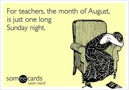 Back to School teacher Humor