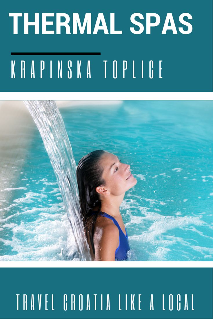 Thermal Spas of Krapinska Toplice Krapinska Toplice is known for its many thermal spas that have exhibited healing powers for centuries. These spas contain minerals that will help heal the body and in an all natural manner. Typically, the thermal spas in the Krapinska Toplice region are characterized by containing calcium, hydrogen, and magnesium. The waters of Krapinska Toplice is rated as some of the best in all of Europe. Sounds good huh?!