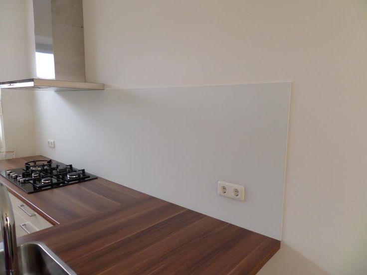 keuken achterwand mat glas - Google zoeken