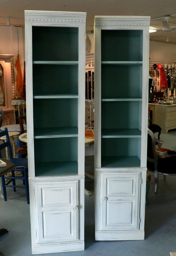 Etsy: Shabby Chic Bookshelves