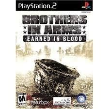 Brothers In Arms Earned In Blood- PS2 Game