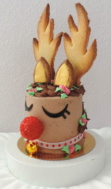 Juliart: Rudolph cake