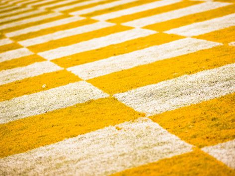 Checkerboard Endzone in Neyland Stadium Photographic Print at AllPosters.com