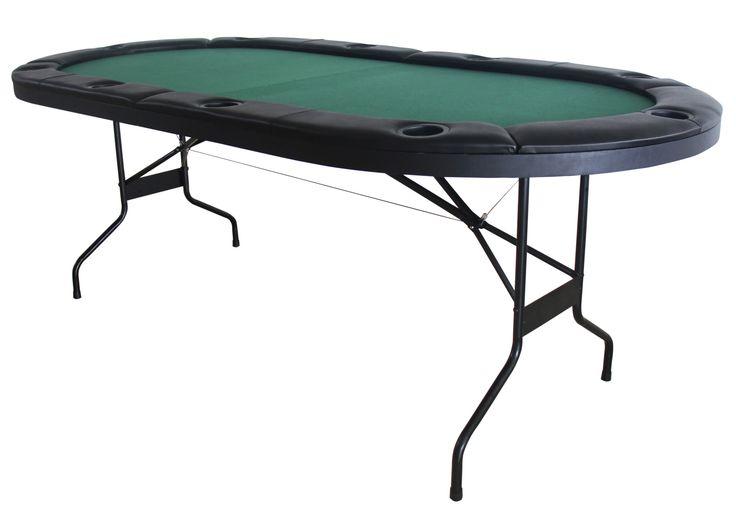 "43.75"" Folding Poker Table"