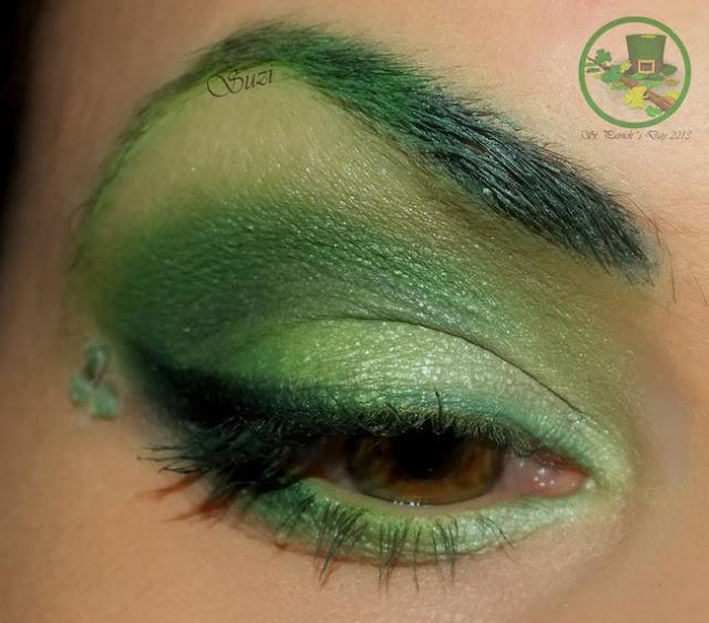 Holiday Eye Make-up - St. Patrick´s Day