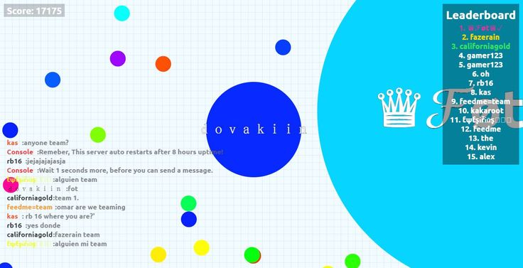 dovakiin higher score17175 mass because you can build more than one cell score 17175 - dovakiin saved mass