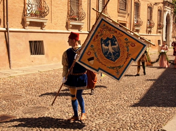 """Parade - """"Palio di Ferrara. The medieval festival in photos and video"""" by @Kaitlin Keane Li"""