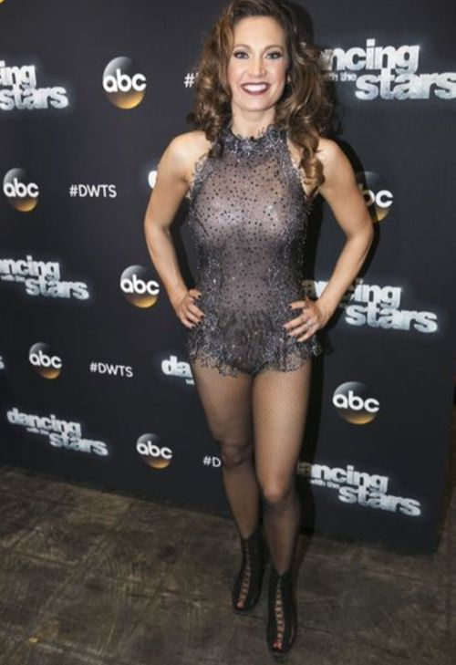 Ginger Zee Dancing With The Stars Quickstep Video Season 22 Week 9  51616 Dwts -7754
