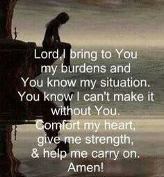Oh Lord! Embrace me...