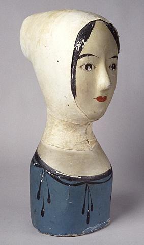 mulliner's mannaquin      circa 1850      Textile Working Tool      papier…