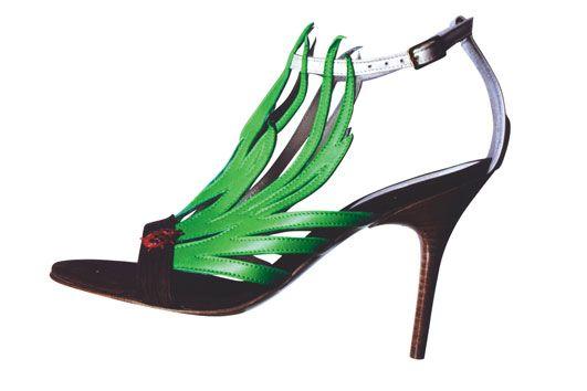 Judari Green green grass sandals