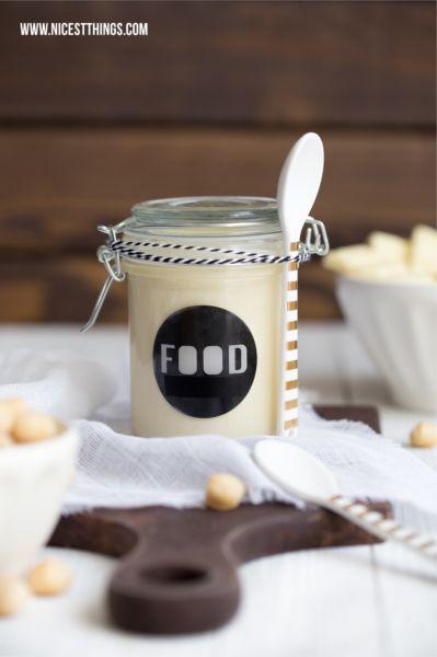 white chocOlate macadamia cream