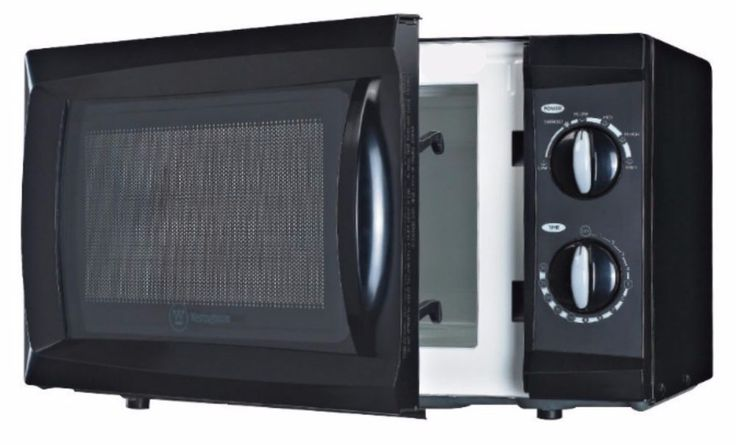 Compact Microwave Oven Small For Dorm Small Apartments Seniors Dial Controls…