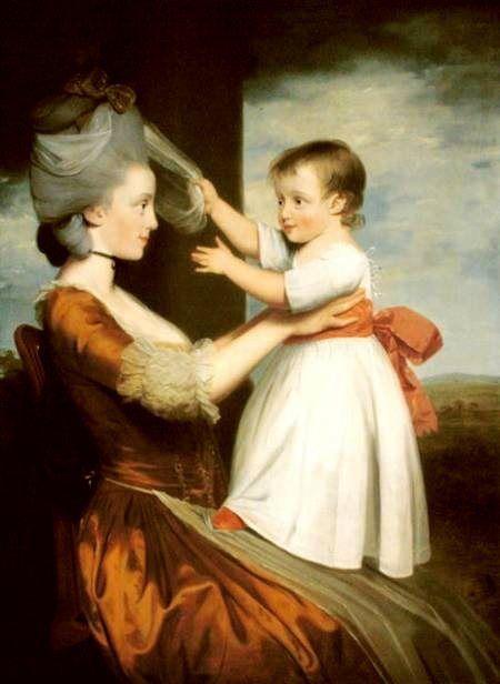 Elizabeth Mortlock And Her Son