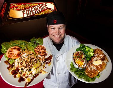 Firehouse Grille and Pub is an eatery of historic proportions.