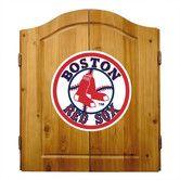 Found it at Wayfair - MLB Team Logo Complete Dart Cabinet Set