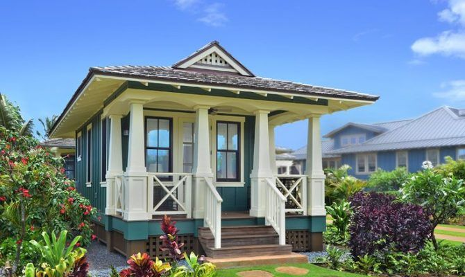 15 Best Hawaiian Plantation Style Homes - Home Building Plans | 77334