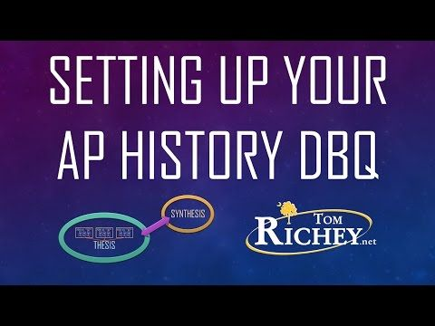 Free Technology for Teachers: Tips for Setting Up AP History DBQ Essays