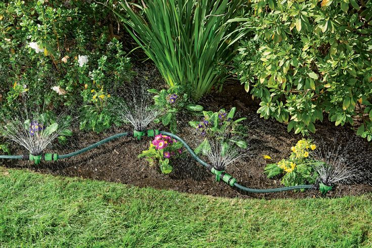 Garden Watering System >> Snip-n-Spray Garden and Landscape Sprinkler System ...