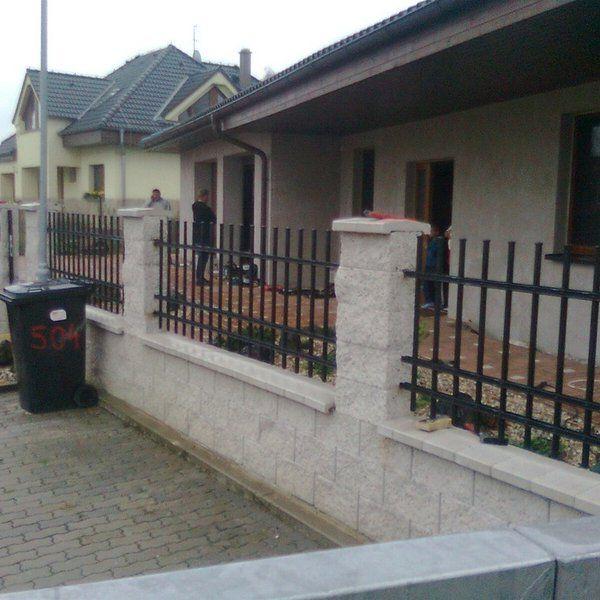 Kovaný plot - realizace Jičín