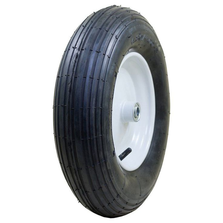 Marathon 20063 Pneumatic Ribbed Wheelbarrow Tire - 1352-1232