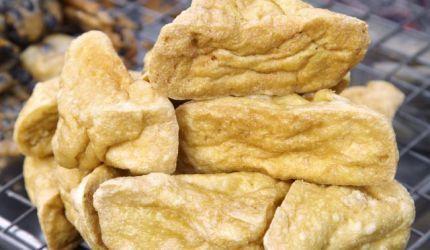 Vyprážané tofu v syrovom cestíčku