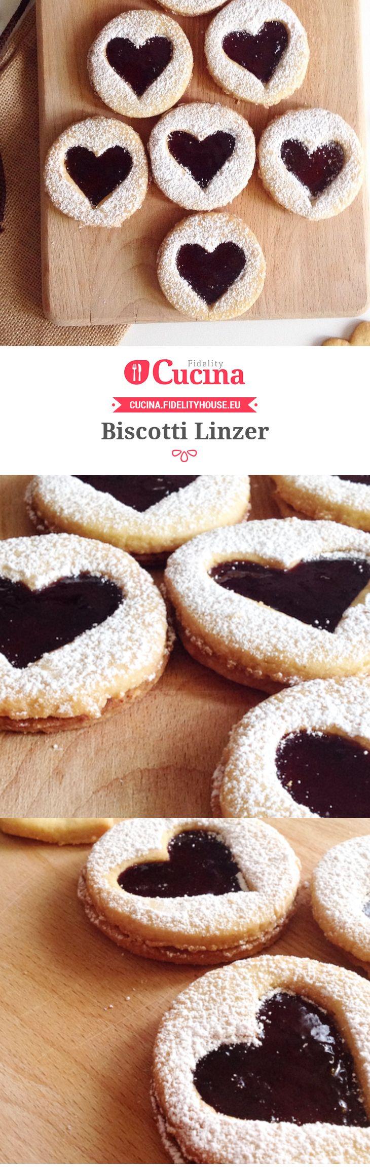 Biscotti Linzer della nostra utente Marta. Unisciti alla nostra Community ed invia le tue ricette!