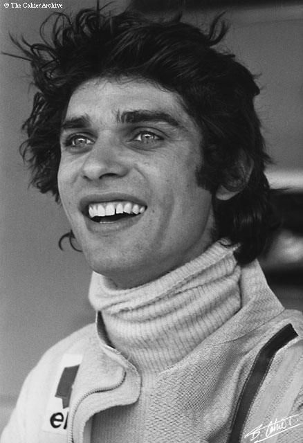 Francois Cevert(F) Born 	25, February  1944 Died  6, October 1973. Killed @ Circuit Watkins Glen, New York, USA,  while qualifying for the United States Grand Prix.