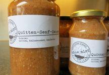 Quitten-Senf-Sauce #veg