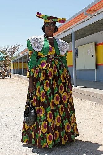 Herero Woman of Namibia: