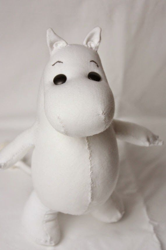 Moomin doll by Lunate and the Mermaid has been featured in this lovely blog: wherethewritercomestowrite.blogspot.com