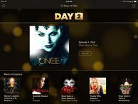 Apple conjures up 'Once Upon a Time' pilot for free The 12 Days of Gifts app continues its merrymaking with a free download for the pilot to the popular ABC TV series.