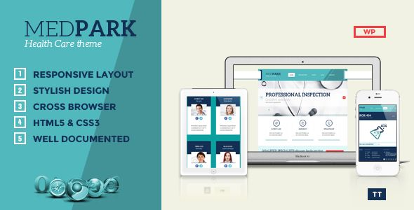 MedPark - Responsive Medical Health WP Theme
