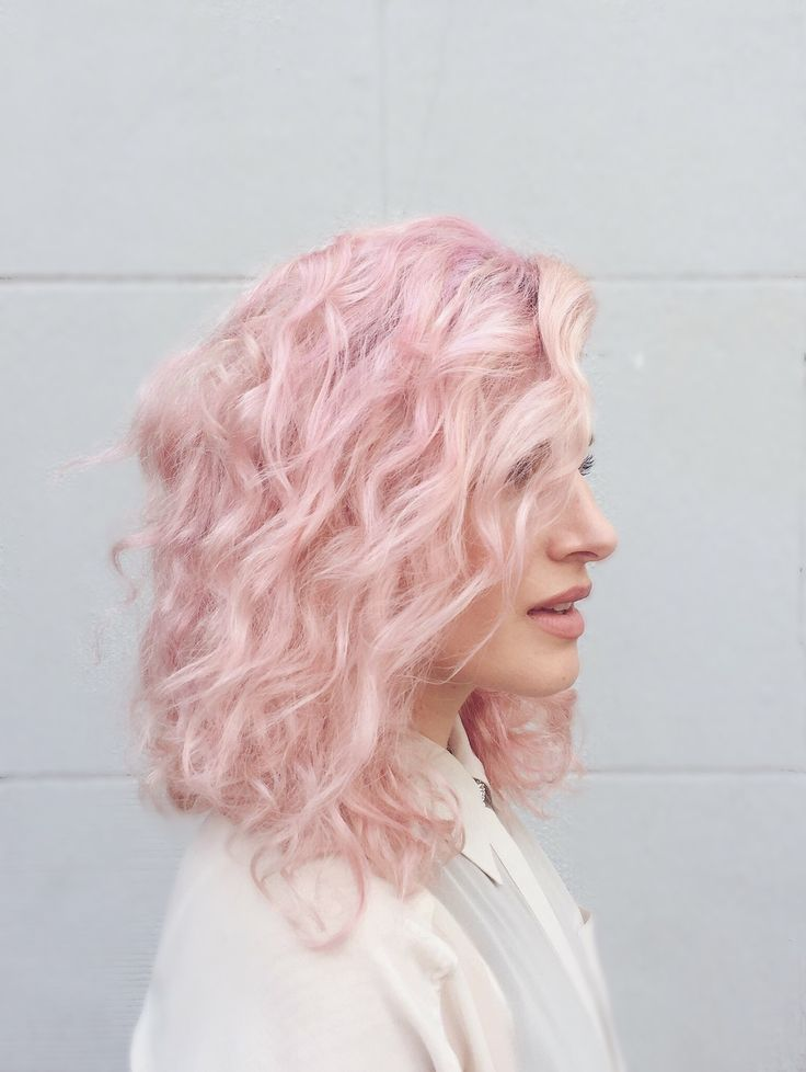 Side view of my new pale pink hair - more on Instagram  https://instagram.com/p/BSFIHcSjmsl/