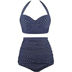 KLXEB Split Bikini Maillot de bain Student Rouge Lotus Dentelle Petit coffre Vacation Beach Hot Spring Maillot de bain, M, rouge