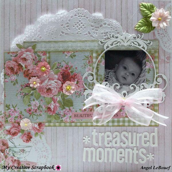 Treasured Moments ~My June Limited Edition Kit . Creative Scrapbook Dt~ - Scrapbook.com