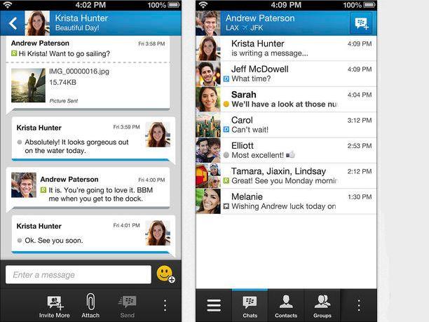 Mejor app: ¿Es BBM la mejor aplicación del 2013?