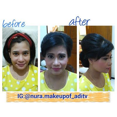 Nura Make Up Of ADITV: make up kondangan