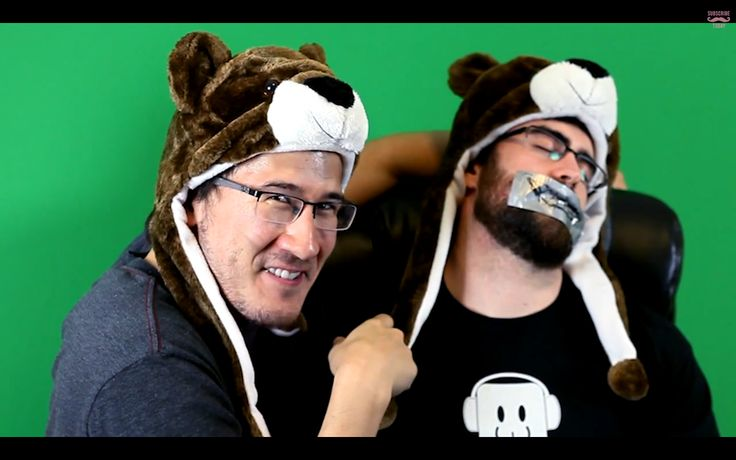 Photo of Markiplier & his friend   -