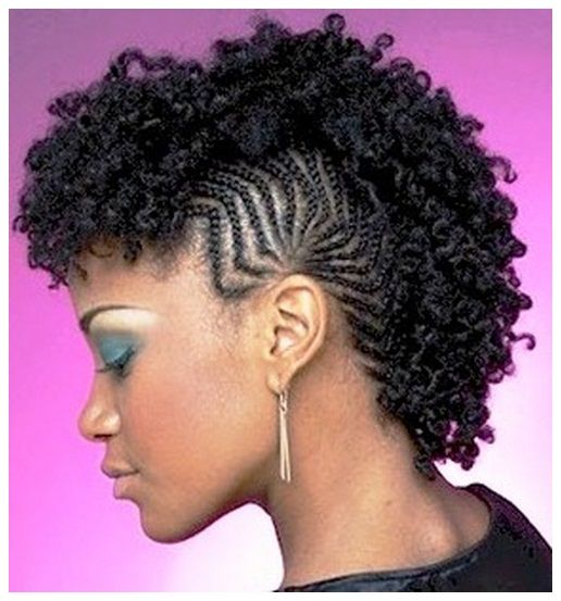 Hairstyles For Natural Hair Simple 2411 Best Hair Styles Africa Inspired Images On Pinterest  Short