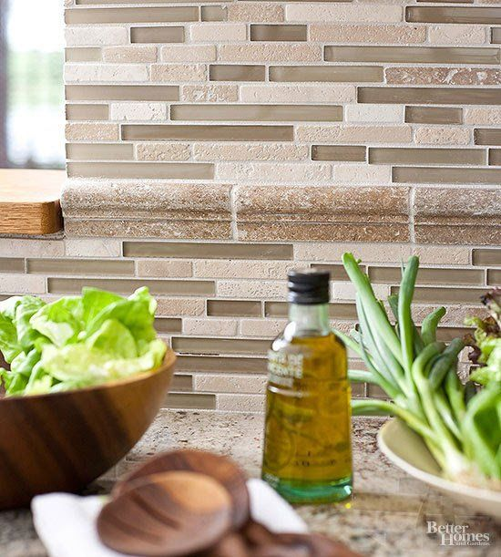 Kitchen Backsplash Ideas A Splattering Of The Most: Glass Tile Has Become One Of The Most Popular Materials