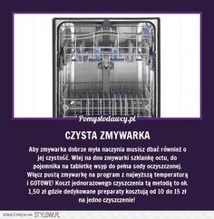 CZYSTA I LŚNIĄCA ZMYWARKA - NAJTAŃSZY SPOSÓB NA PERFEKC… na Stylowi.pl